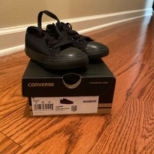 Converse All Star (black) size 6 toddler